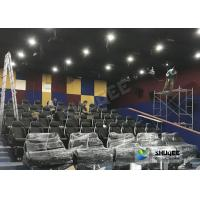 Quality Customized 5D Movie Theater Simulator With Energy - Efficient Motion Seat wholesale