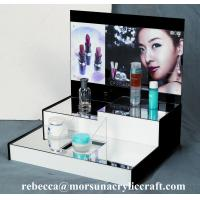 Quality High grade table top acrylic cosmetic display stand wholesale