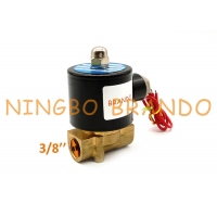 China UD-10 2W040-10 3/8'' Inch Normally Closed Electic Water Solenoid Valve on sale