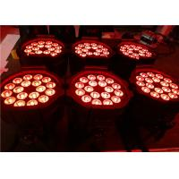 Quality High-Bright 18 Pcs 10W Led Par Light 5in1 RGBWA with 2 Years Warranty wholesale