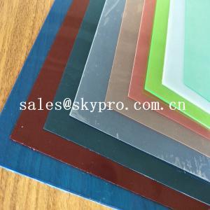 Quality High Rigidity Glossy PVC Plastic Product Transparent Rigid Plastic PVC Sheet For Plastic Coating wholesale