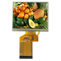 Quality 3.5in 1000cd/m2 Tft Lcd Panel 340x800 RGB Lcd Screen Module wholesale