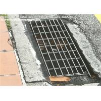 Quality Vehicular Heavy Duty Steel Grate Drain Cover Silver Color I Bar Type wholesale