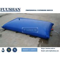 Quality Fuushan PVC Collapsible And Reuseable Underground Plastic Water Tanks 5000 Gallons wholesale