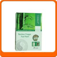 Quality 100% new material bamboo Vinegar Detox foot patch wholesale