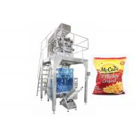 Quality Stainless Steel Automatic Frozen French Fries Packing Machinery wholesale