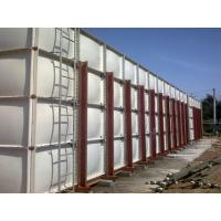 Quality Square Plastic GRP Sectional Water Tanks For Mining , Corrosion Resistant wholesale