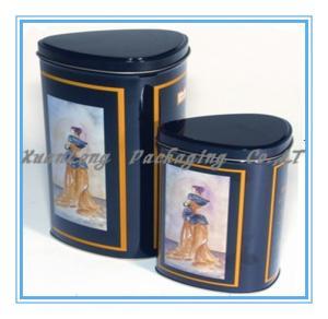 Quality Gift tin coffee box wholesale