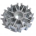 Quality Customized Round Aluminum Heatsink AL6063 T5 Extrusion Profile Radiator wholesale