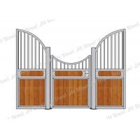 Quality The cheap European black coating horse stable panels for sales wholesale