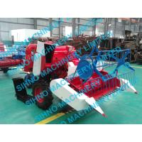 Quality mini paddy combine harvester with Tyre wheel wholesale