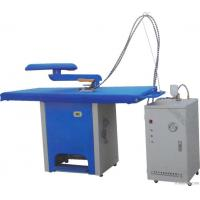 Quality Electric Garment Ironing Table With Steam Generator Hotel Laundry Machines wholesale