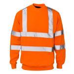 Quality Hi Vis Fleece Safety Sweatshirt wholesale