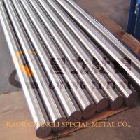 China 100mm gr5 titanium bar in polished surface on sale