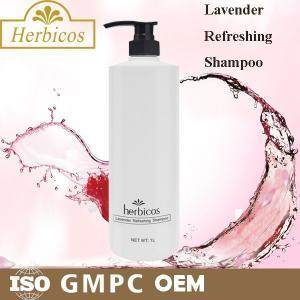 Quality Mild Herbal Hair Shampoo Facial Cleansing SPA Lavender Refreshing 1000ml wholesale
