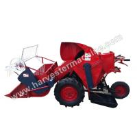 Quality Walking Type Small Rice/Wheat Combine Harvester wholesale