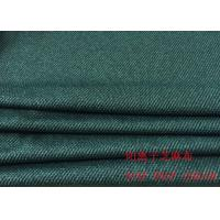 Quality 88%P 12%SP Cotton Knit Fabric Dark Blue Striped Jacquard Fabric For Clothes wholesale