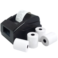 China 80X80mm 65gsm Thermal Receipt Paper Roll For ATM Printer on sale
