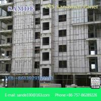 Quality Light weght and short period polyurethane sandwich wall panel for internal wall wholesale