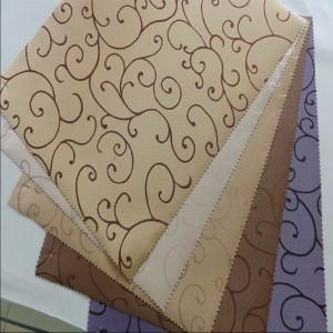 Quality Jacquard design blackout roller blinds fabric for interior decoration wholesale