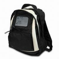 Quality Solar Bag, Can Charge Laptop, CD, MP3 and Digital Camera, Made of 600D wholesale