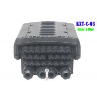Buy cheap 96 Core 4 Into 24 Out Multicore Joint Fiber Optic Closure Enclosure Outdoor IP68 from wholesalers