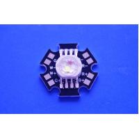 Quality 4X3W Epistar LED Chip High Power RGBW Led Diode With Black Star PCB wholesale