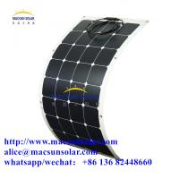 Quality 100W High Steady Quality  CE Certificated Sunpower Semi-Flexible Solar Moulds wholesale