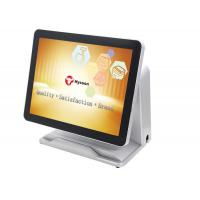 "5 Wire 15"" Touch Screen Pos System HM65 With Dual - Core Double Thread Processor"