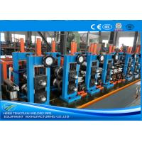 Quality Adjusted ERW Tube Mill Production Line Energy Saving Blue Color HG32 wholesale
