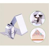 Cheap Mousse Cake Ring Stainless Steel Triangle Ring Mold Cut Biscuits Cake Bakeware for sale