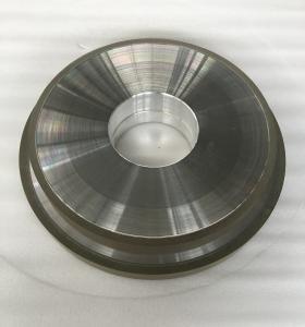 Quality Abrasive Grit Resin Bonded Diamond Grinding Wheels Flat CBN Hole 127mm Width 10mm wholesale