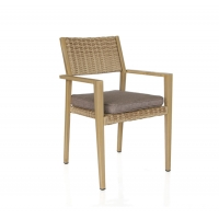 Quality 60cm Width Rattan Garden Dining Chairs wholesale