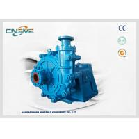 Quality Single Stage Industrial Slurry Pump To Pump Fine Coal To Dewatering Screens wholesale