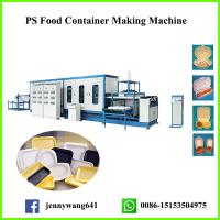 China One Time GPPS Foam Fast Food Box Machine on sale