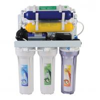 Cheap 50GPD 8 Stage Water Filtration System , RO Drinking Water System 3.2G Water Tank for sale