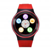Quality Red Smart Bluetooth Watch Phone For Adult / Gps Tracking Touch Screen Watch wholesale