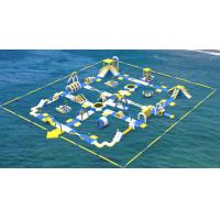 Quality Giant Inflatable Water Toys Game / Inflatable Outdoor Water Theme Park Manufacturer wholesale