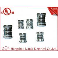 """Buy cheap 3"""" 4"""" Steel EMT Conduit Fittings Galvanized Compression Coupling UL Listed , Blue White product"""