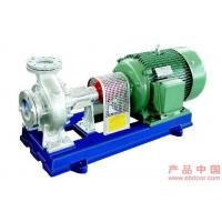 Cheap Organic Petrochemical Hot Oil Pumps , PTFE Dynamic Seal Oil Transfer Pump for sale
