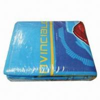 Quality Cotton blanket, various sizes are available wholesale