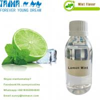 Quality Hot Sellling VG based USP grade mint/fruit/tobacco aroma Lemon Mint flavor for E-juice wholesale