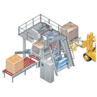 Buy cheap Tubular Film Stretch Hood Machine For Wrapping Boxed Products Pallets Packaging from wholesalers