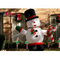 Quality Big inflatable snowman , holiday decor inflatable Christmas for decoration USA wholesale