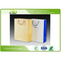 Quality Silk Printed Paper Shopping Bags , Die Cutting Handle Kraft Paper Gift Bags wholesale