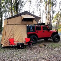 Quality Customized Truck Pop Up Roof Top Tent Streamlined Design For Family wholesale