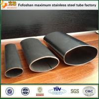 Quality Supply Oblong Tube Stainless Steel Special Shaped Tube For Construction wholesale