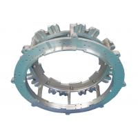 Cheap double plate, aluminum sand casting, knitting machine part, precision machining, for sale