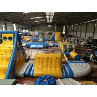 Quality Giant Inflatable Water Parks , Inflatable Aqua Park Equipment  For Adults And Kids wholesale