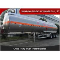 Buy cheap 3 Axles 45000 Litres 4 Compartments carbon steel Material Fuel Tanker semi from wholesalers
